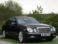 USED 2008 08 MERCEDES-BENZ E CLASS 3.0 E320 CDI SPORT 4d AUTO 222 BHP