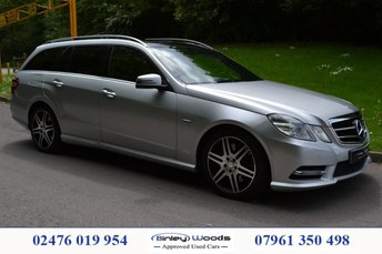 2012 MERCEDES-BENZ E CLASS 3.0 E350 CDI BLUEEFFICIENCY S/S SPORT 5d AUTO 265 BHP £13499.00