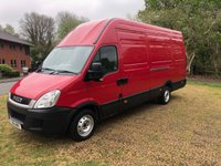 USED 2011 61 IVECO DAILY 2.3 35S13V 126 BHP LWB EXTRA HIGH ROOF