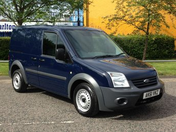 2012 FORD TRANSIT CONNECT T200 SWB LOW ROOF TWIN SLD [ LOW MILEAGE ] VAN £4950.00