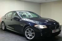 "USED 2011 60 BMW 5 SERIES 2.0 520D M SPORT 4d 181 BHP 18""ALLOYS+NAV+PARKING SENSORS+HEATED SEATS+CRUISE CON+B/TOOTH"