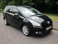 2013 PEUGEOT 5008 1.6 E-HDI ALLURE 5d AUTO 115 BHP £7000.00