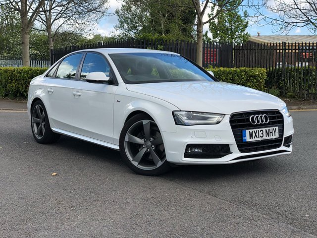 2013 13 AUDI A4 2.0 TDI BLACK EDITION 4d 148 BHP