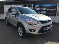 2012 FORD KUGA 2.0 ZETEC TDCI 5d 138 BHP FULL FORD SERVICE HISTORY £6995.00