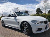 2016 BMW 4 SERIES 2.0 420D M SPORT 2d AUTO 188 BHP £SOLD