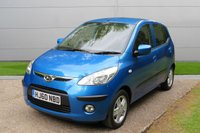 USED 2010 60 HYUNDAI I10 1.2 COMFORT 5d AUTO 77 BHP AUTOMATIC LOW MILEAGE, AIR CON, FINANCE ME TODAY-UK DELIVERY POSSIBLE