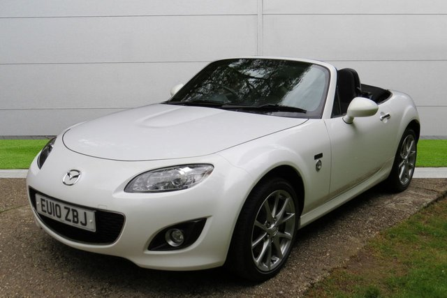 USED 2010 10 MAZDA MX-5 1.8 20TH ANNIVERSARY 2d 125 BHP LOW MILEAGE 20TH ANNIVERSARY SPECIAL EDITION. PX, FINANCE & DELIVERY POSSIBLE
