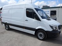 2017 MERCEDES-BENZ SPRINTER 314CDI MWB, 140 BHP [EURO 6], LOW MILES £16495.00