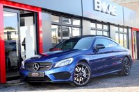 USED 2017 17 MERCEDES-BENZ C 43 AMG 3.0 AMG C 43 4MATIC PREMIUM PLUS 2d AUTO 362 BHP *PREMIUM PLUS LOADED*1 OWNER FROM NEW*LOADED*P/PLUS*SPORTS EXHAUST*REVERSING CAMERA*BERMIESTER SOUND SYSTEM*BRILLIANT BLUE*NIGHT PACK*FULL MERC SERVICE HISTORY*MANUFACTURERES WARRANTY TILL 1ST MARCH 2020*EXCELLENT CONDITION INSIDE AND OUT*