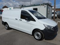USED 2015 65 MERCEDES-BENZ VITO 111 CDI LWB 114 BHP, DIRECT FROM MERCEDES-BENZ