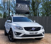 USED 2015 65 VOLVO XC60 2.0 D4 R-DESIGN NAV 5dr AUTO 1 Year Parts & Labour Warranty