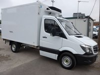 USED 2015 15 MERCEDES-BENZ SPRINTER 313 CDI MWB FREEZER BOX STANDBY, 130 BHP [EURO 5]