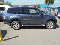 USED 2008 08 MITSUBISHI SHOGUN 3.2 DI-D GLS ELEGANCE LWB 170 BHP (((  AUTOMATIC )) FULL GREY LEATHER, SAT NAVIGATION, ELECTRIC PACK  REAR DVD SCREEN HEAD PHONES  !!! NO VAT TO PAY !!!! !!! NO VAT TO PAY !!! WWW.PREMIERVANSALES.CO.UK 0161 429 8644