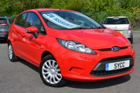 USED 2012 12 FORD FIESTA 1.2 EDGE 5d 81 BHP ~ AIRCON ~ 2 KEYS AIR CON ~ 2 KEYS ~ 6 MONTHS WARRANTY ~ 12 MONTHS MOT