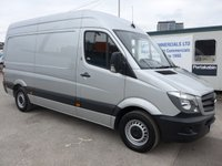 USED 2014 64 MERCEDES-BENZ SPRINTER 313 CDI MWB HI ROOF, 130 BHP [EURO 5]