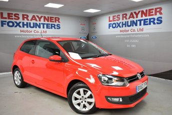 2013 VOLKSWAGEN POLO 1.2 MATCH EDITION 3d 69 BHP £5299.00