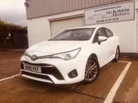 USED 2016 TOYOTA AVENSIS 1.6 D-4D BUSINESS EDITION