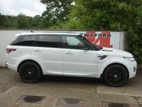 USED 2016 16 LAND ROVER RANGE ROVER SPORT 3.0 SDV6 HSE DYNAMIC 5d AUTO 306 BHP ZERO ULEZ RATED,FULL LAND ROVER SERVICE HISTORY,DEPLOYABLE SIDE STEPS,