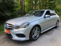 USED 2014 14 MERCEDES-BENZ E CLASS 2.1 E250 CDI AMG SPORT 4d 202 BHP SAT NAV HEATED SEATS DEMO PLUS 1 OWNER