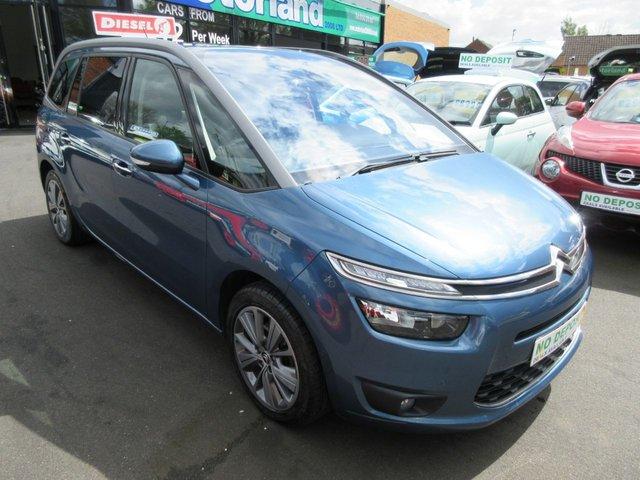USED 2014 14 CITROEN C4 GRAND PICASSO 1.6 E-HDI AIRDREAM EXCLUSIVE PLUS 5d 113 BHP CALL 01543 379066... 12 MONTHS MOT... 6 MONTHS WARRANTY... 7 SEATER DIESEL... NEW SHAPE... JUST ARRIVED