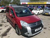 USED 2010 10 CITROEN BERLINGO 1.6 MULTISPACE XTR HDI 5d 109 BHP IN METALLIC RED WITH 151,000 MILES ( TRADE CLEARANCE ) APPROVED CARS AND FINANCE ARE PLEASED TO OFFER THIS CITROEN BERLINGO 1.6 MULTISPACE XTR HDI 5 DOOR 109 BHP IN METALLIC RED WITH 151,000 AND A YEARS MOT. THIS VEHICLE HAS GOT A GOOD SPEC SUCH AS REAR PARKING SENSORS, AUX, ELECTRIC WINDOWS AND MUCH MORE. THIS IS A GREAT VEHICLE AND DRIVES SUPERB THIS VEHICLE HAS JUST HAD A NEW RECONDITIONED ENGINE SO IT DRIVES SUPERB WITH A GOOD SERVICE HISTORY WITH 5 SERVICE STAMPS. BUT DUE TO THE VEHICLES AGE AND MILEAGE THIS VEHICLE IS BEING OFFER AS A TRADE CL