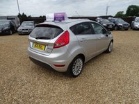 USED 2011 11 FORD FIESTA TITANIUM TDCI MOT 14th May 2020... Full Service History (7 Services).... £20 Road Tax... 94 BHP Engine... Great performance and MPG!.... Sony Stereo with Bluetooth... Cruise Control... Front / Rear Sensors.... Privacy Glass... Warranty with Recovery Included