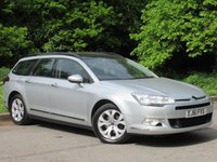 USED 2011 61 CITROEN C5 2.0 VTR PLUS HDI NAV 5d SATELLITE NAVIGATION, RECENT CAMBELT AND WATER PUMP CHANGE