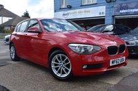 2012 BMW 1 SERIES 2.0 116D SE 5d 114 BHP £7499.00