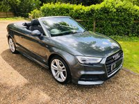 2016 AUDI A3 1.4 TFSI CoD S LINE Cabriolet 2d 148 BHP £SOLD