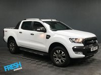 USED 2017 17 FORD RANGER 3.2 WILDTRAK 4X4 DCB TDCI AUTO  * 0% Deposit Finance Available