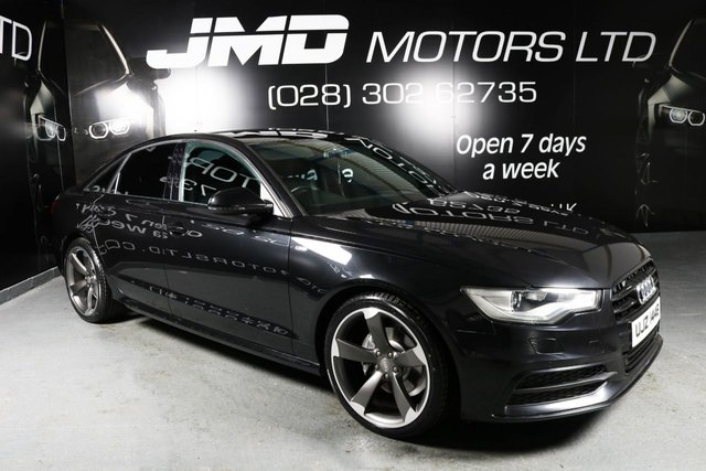 2012 AUDI A6 2.0 TDI S LINE BLACK EDITION STYLE AUTO 175 BHP