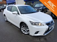 2015 LEXUS CT 1.8L 200H ADVANCE 5d 134 BHP £SOLD