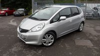 USED 2013 63 HONDA JAZZ 1.3 I-VTEC ES PLUS 5d AUTO 99 BHP AUTOMATIC