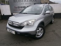 USED 2008 08 HONDA CR-V 2.2 I-CTDI SE 5dr VALUE DIESEL 4X4 WITH LOTS OF SERVICE HISTORY
