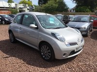 USED 2007 57 NISSAN MICRA 1.4 ACTIVE LUXURY 3d AUTO 88 BHP LOW MILEAGE AUTOMATIC