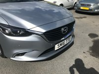USED 2016 16 MAZDA 6 2.2 D SPORT NAV 4 DOOR 148 BHP SALOON IN SILVER WITH A HUGH SPEC INCLUDING LEATHER INTERIOR AND SAT NAV. APPROVED CARS ARE P[LEASED TO OFFER THIS MAZDA 6 2.2 D SPORT NAV 4 DOOR 148 BHP SALOON IN SILVER WITH A HUGH SPEC INCLUDING SAT NAV,UPGRADED ALLOYS,FULL LEATHER INTERIOR AND MUCH MORE WITH A FULL SERVICE HISTORY(ALL BILLS)AN EXCEPTIONAL LOOKING AND DRIVING CAR ONE NOT TO BE MISSED.