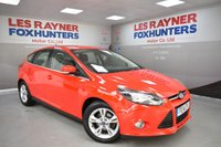 USED 2014 14 FORD FOCUS 1.6 ZETEC TDCI 5d 113 BHP Great MPG, Low tax, DAB Radio, bluetooth, 1 Owner