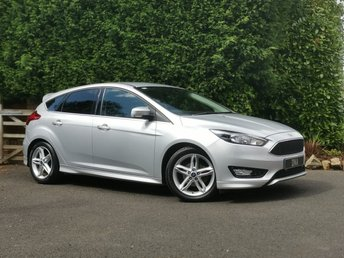 2015 FORD FOCUS 1.5 ZETEC S TDCI 5d 118 BHP LOW MILES - FORD + 1 OWNER £SOLD