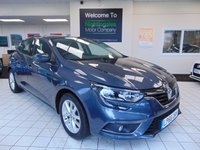 "USED 2017 66 RENAULT MEGANE 1.2 EXPRESSION PLUS TCE 5d 130 BHP BLUETOOTH + WARRANTY UNTIL JAN 2020 + 16"" ALLOYS + AM/FM/CD RADIO + FRONT AND REAR ELECTRIC WINDOWS + AIR CONDITIONING + REMOTE CENTRAL LOCKING"