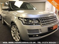 USED 2014 14 LAND ROVER RANGE ROVER 4.4 SDV8 VOGUE AUTOBIOGRAPHY UK DELIVERY* RAC APPROVED* FINANCE ARRANGED* PART EX