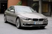 USED 2016 16 BMW 3 SERIES 2.0 330E LUXURY 4d AUTO 181 BHP