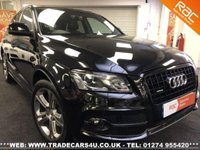 USED 2011 61 AUDI Q5 3.0 TDI V6 QUATTRO S LINE SPECIAL EDITION AWD AUTO UK DELIVERY* RAC APPROVED* FINANCE ARRANGED* PART EX