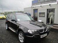 USED 2006 06 BMW X3 2.0 D SE 5d 148 BHP