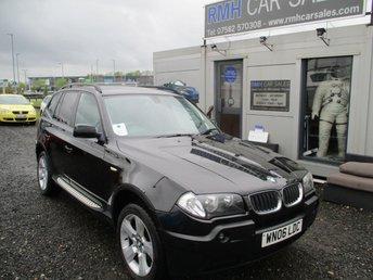 2006 BMW X3 2.0 D SE 5d 148 BHP £3495.00