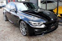 USED 2017 M BMW M3 3.0 M3 COMPETITION PACKAGE 4d AUTO 444 BHP H/K*HEADS UP*REV CAM*FACELIFT*BUCKETS*H/K*REV CAM SAPHIRE BLACK