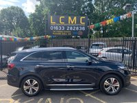"USED 2018 18 KIA SORENTO 2.2 CRDI GT-LINE S ISG 5d AUTO 197 BHP STUNNING GRAVITY BLUE METALLIC PAINTWORK WITH FULL BLACK LEATHER UPHOLSTERY WITH GREY STITCHING. ONLY ONE OWNER FORM NEW. LOW MILEAGE. PANORAMIC GLASS ROOF WITH TILT/SLIDE. 8"" TOUCH SCREEN MEDIA SCREEN WITH SAT NAV. 360 CAMERA. HEATED AND COOLED FRONT SEATS. ELECTRIC TAILGATE. ADAPTIVE CRUISE CONTROL. LANE ASSIST. PLEASE GOTO www.lowcostmotorcompany.co.uk TO VIEW OVER 120 CARS, SOME OF THE CHEAPEST ONLINE"