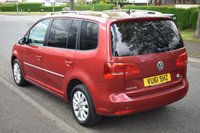 USED 2011 61 VOLKSWAGEN TOURAN 2.0 SPORT TDI BLUEMOTION TECHNOLOGY 5d 138 BHP SERVICE HISTORY, DAB RADIO, 6 SPEED MANUAL, REAR PRIVACY GLASS, ALCANTARA SPORTS SEATS, 7 SEATS