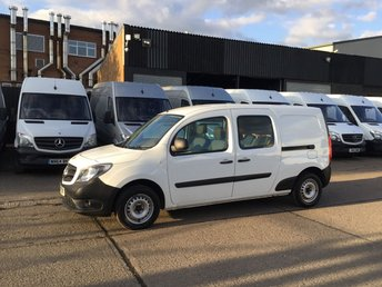 2016 MERCEDES-BENZ CITAN 1.5 109CDI DUALINER 90BHP 5 SEATS. 1 OWNER. FINANCE. PX £6990.00