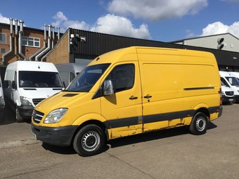 2008 MERCEDES-BENZ SPRINTER 2.1 311CDI MWB HIGH ROOF. AIRCON. MOT - 2020. BARGAIN. PX £1990.00