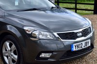 USED 2012 12 KIA CEED 1.6 2 5d AUTO 124 BHP FKSH, GREAT CONDITION AUTO, 2 OWNERS, B'TOOTH, LONG MOT!